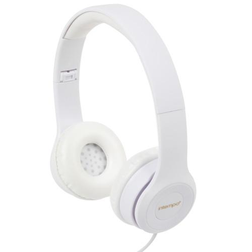 Intempo Folding Clarity Headphones with Adjustable Headband