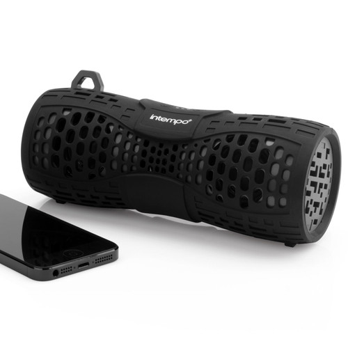 Intempo Bluetooth IPX6 Speaker, Black