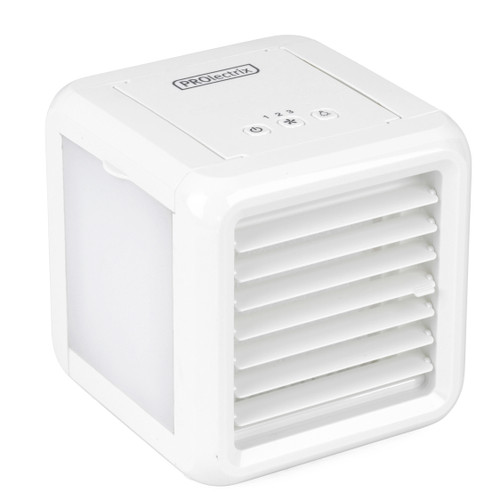 Prolectrix® Portable Air Cooler Personal Space 3 Speeds, White