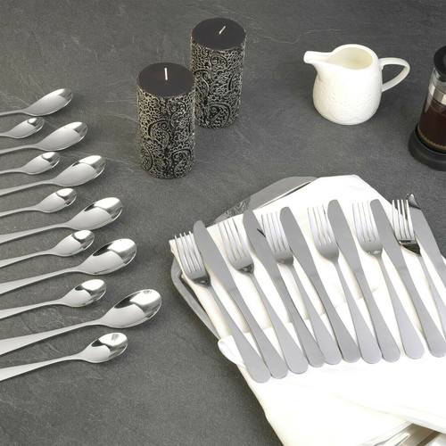 Russell Hobbs® Deluxe London 24 Piece Cutlery Set, Stainless Steel