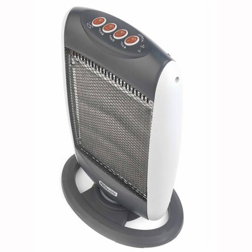 Prolectrix Halogen Heater, 1200 W, Grey