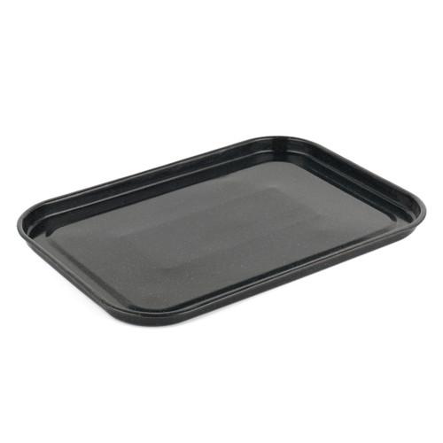 Russell Hobbs Romano Vitreous Enamel Baking Tray, 40 cm, Black