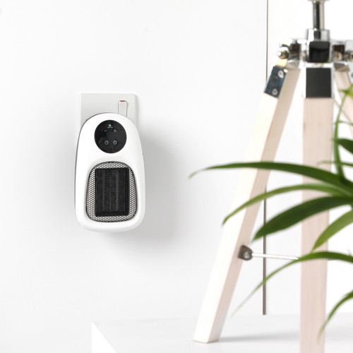 Beldray Compact Digital Smart Plug-In Portable Mini Heater 500W, White