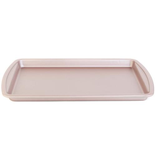 Salter® Carbon Steel Matte Metallic Non-Stick Rectangular Baking Tray