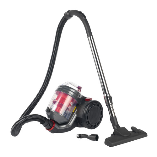 Beldray® Compact Vac Lite Cylinder Vacuum Cleaner, 2 L, Red