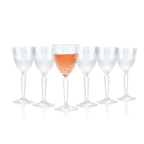 RCR Brillante Red Wine Glasses, 230 ml, Set of 6