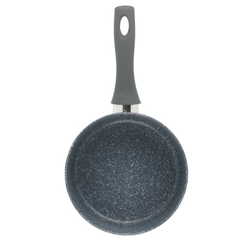 Russell Hobbs Blue Marble 20 cm Non-Stick Saucepan, Pressed Aluminium