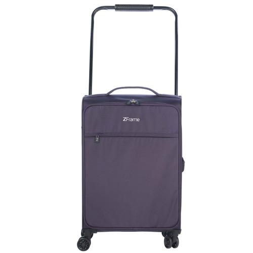 ZFrame Medium Purple 4 Double Wheel Lightweight Suitcase, 2.48 kg, 51 L, 22 inch