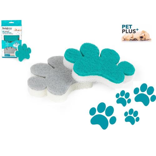 Beldray® Pet Plus Pet Bowl Sponges | Super Tough | Double-Sided