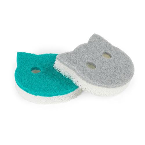 Beldray® Pet Plus Cat Pet Bowl Sponges | Super Tough | Double-Sided