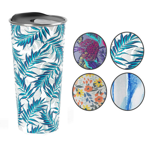 Cambridge® Reusable Tropical Nights Travel Mug With Lid