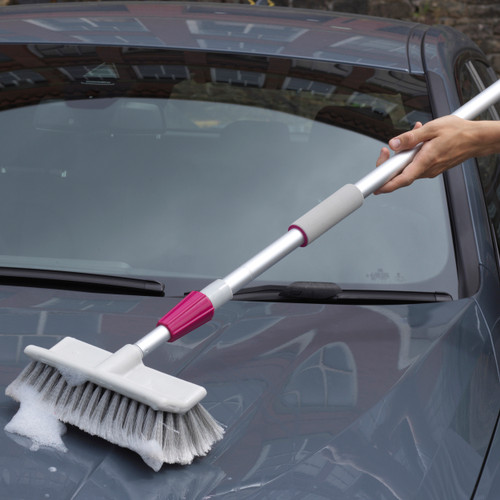 Kleeneze® Water Fed Car Cleaning Brush with Extendable Handle