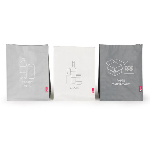 Kleeneze Recycling Bags for Cardboard/Paper, Metal/Plastic and Glass