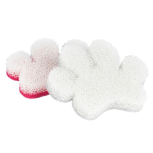 Kleeneze® 2-Pack Pet Bowl Sponges | Non-Scratch Scourer, Dog
