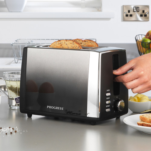 Progress® Ombre 2-Slice Toaster with 7 levels of browning control