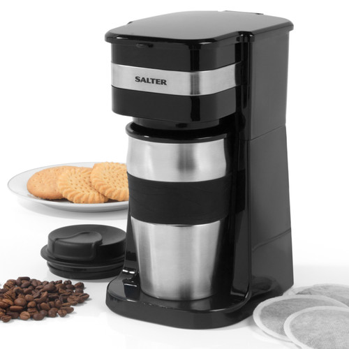 Salter® 420ml Coffee Maker to Go Personal Filter Coffee Machine
