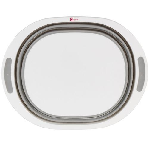 Kleeneze Collapsible Washing Up Bowl |White/Grey