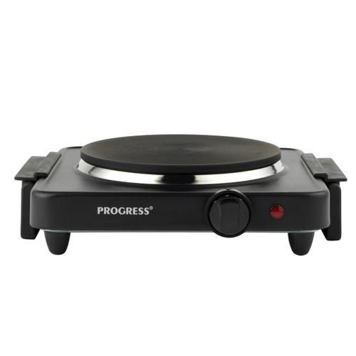 Progress Single Electric Hot Plate Table Top Cooking | 5 Power Settings