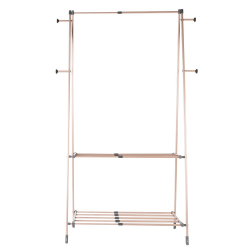 Beldray Stand up Extendable Clothes Airer,  Rose Gold Edition