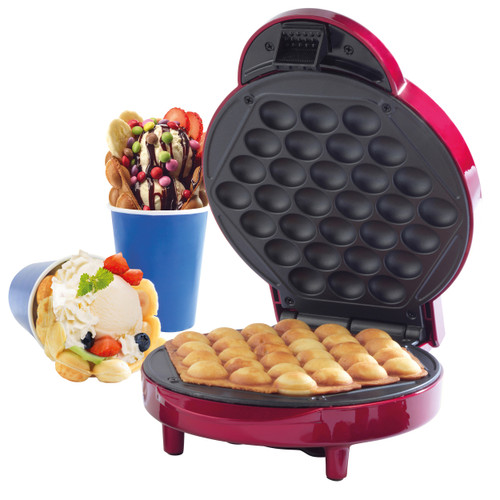 Giles & Posner® Electric Bubble Waffle Maker Machine