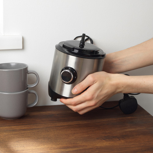 Salter® Mini Processor Pro, Chop, Slice, Shred, 2 Speeds with Pulse   Stainless Steel