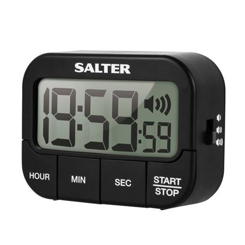 Salter Loud Digital Kitchen Timer, Black