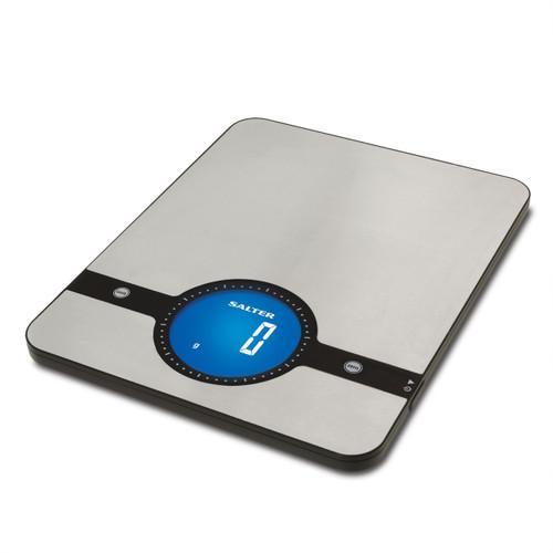 Salter Geo 5kg Digital Kitchen Scale, Stainless Steel