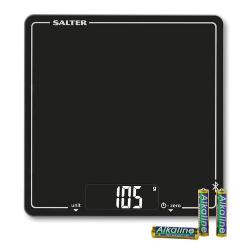 Salter Cook Bluetooth Digital Kitchen Scale - Black