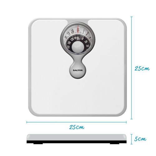 Salter Magnifying Mechanical Bathroom Scale