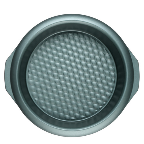 Progress Shimmer Collection Carbon Steel Non Stick Round Baking Pan, 28cm
