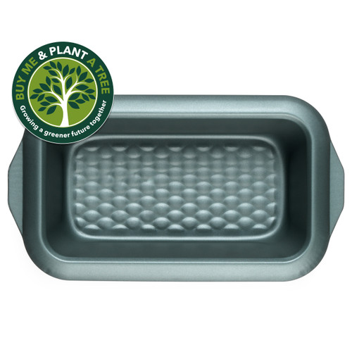 Progress Shimmer Collection Carbon Steel Non Stick Loaf Baking Pan, 28 cm