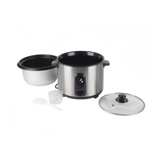 Progress® 1.8 L Rice Cooker, Removable Non-Stick Bowl & Glass Lid