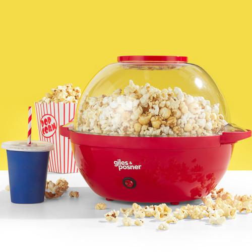 Giles and Posner® Stir Popcorn Maker with Serving Bowl, 5.5 L