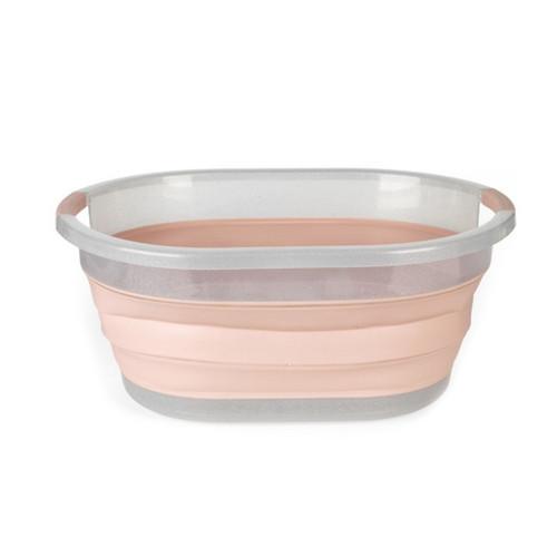 Beldray®37 Litre Glisten Glitter Pink Collapsible Laundry Basket