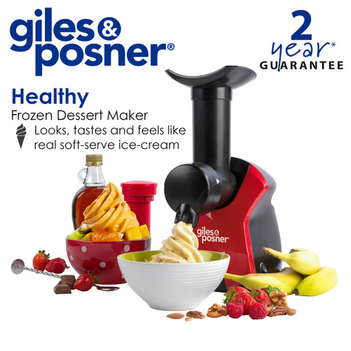 Giles & Posner® Frozen Dessert Maker | Quick and Easy to Use