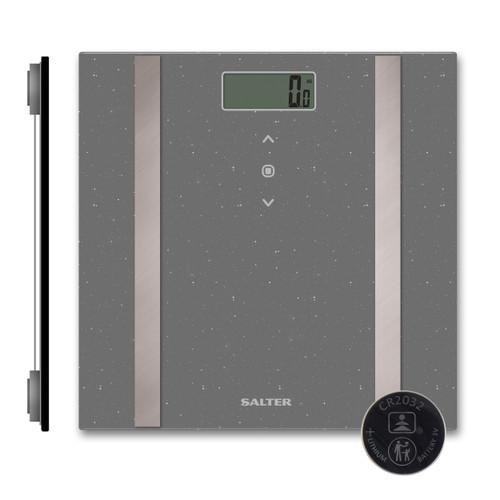 Salter Grey Glitter Analyser Scale