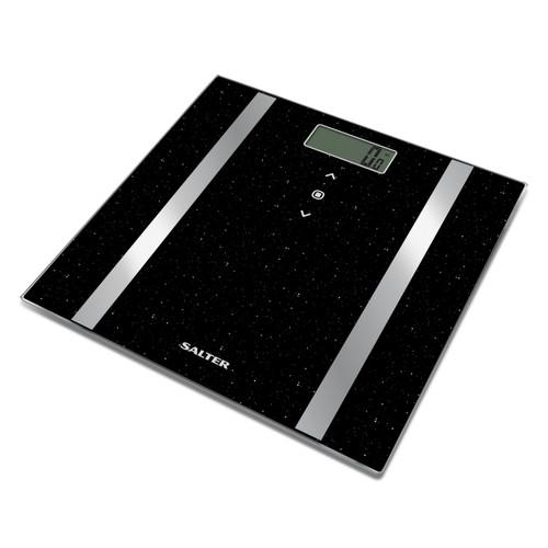 Salter Black Glitter Analyser Scale