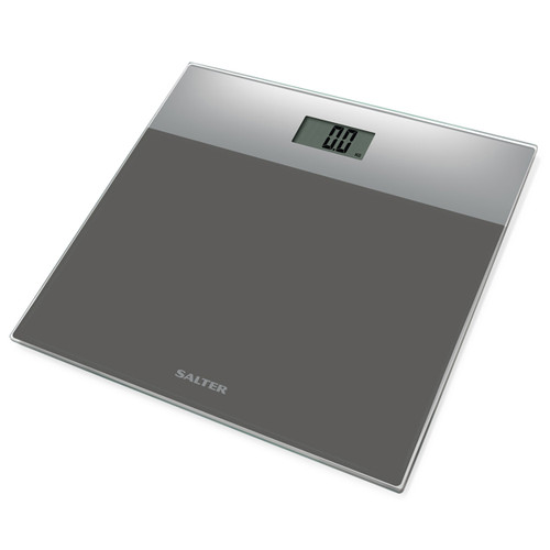 Salter Glass Electronic Bathroom Scale, Silver