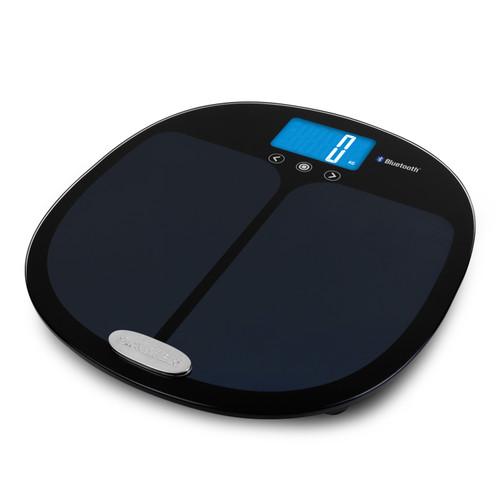 Salter Curve Bluetooth Smart Analyser Bathroom Scale - Black