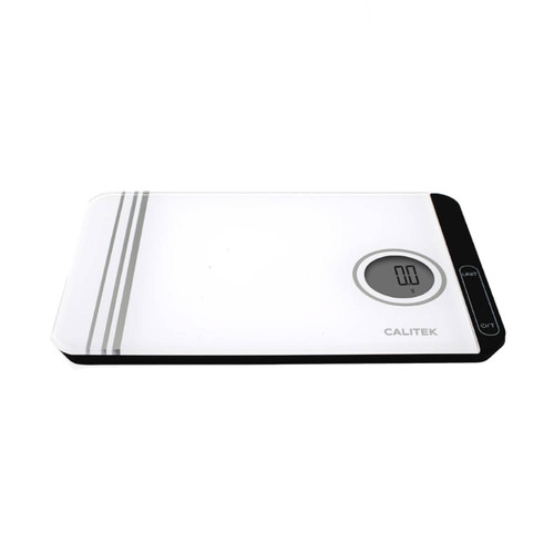 Calitek Digital Kitchen Scales, Weighs up to 5kg, LCD Display, Finger Touch Sensors, Metric and Imperial