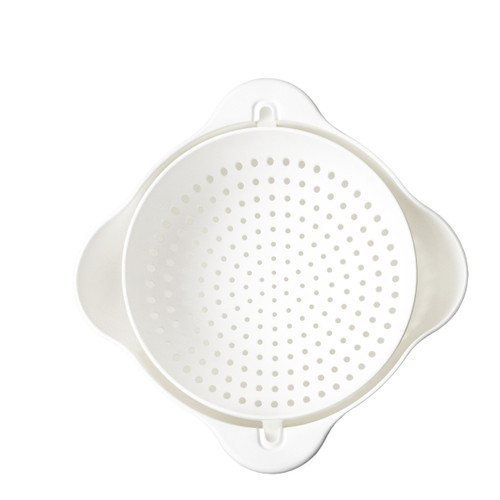 Calitek Small Rolling Colander, 1.3 Litre Detachable Bowl, Easy to Use, Ideal for Washing, Draining and Mixing