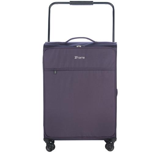 ZFrame Purple 4 Double Wheel Super Lightweight Suitcase, 2.99 kg, 83 L, 26 inch