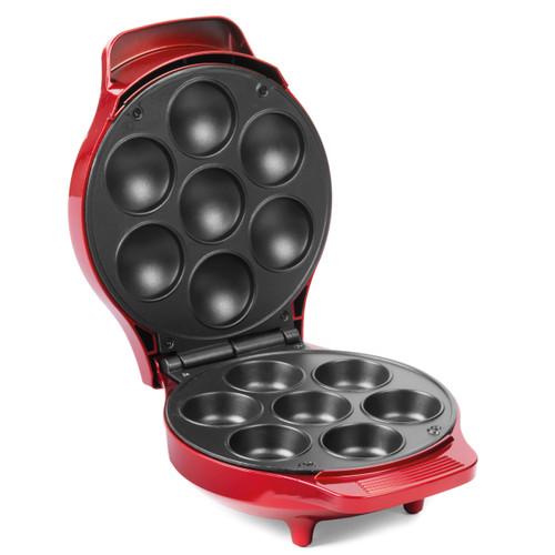 American Original Cupcake Maker for 7 Cupcakes | Metallic Red