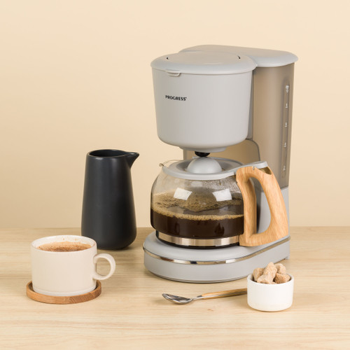 Progress® Scandi Coffee Maker 1.25 L   Grey