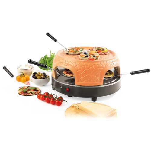 Giles & Posner® Family Sharing Pizza Maker with Terracotta Dome