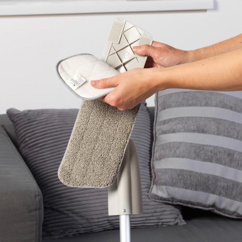 Kleeneze® Anti-Bac Microfibre Refill Mop Head, Fits Mop