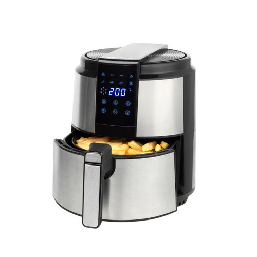Salter 5 Litre Hot Air Fryer with 60-Minute Timer, Digital Display | Black