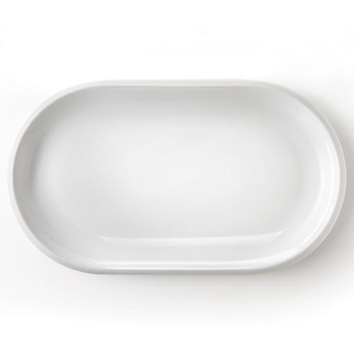 Kahla Large Oval Serving Plate, 31 cm, Dishwasher and Microwave Safe