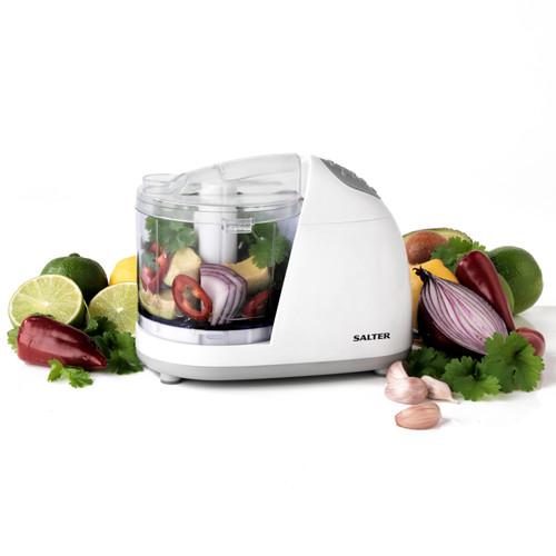 Salter® Mini Kitchen Electric Food Chopper Processor White