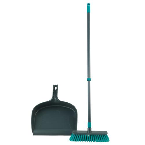 Beldray® Dustpan and Broom Set   Easily Adjustable